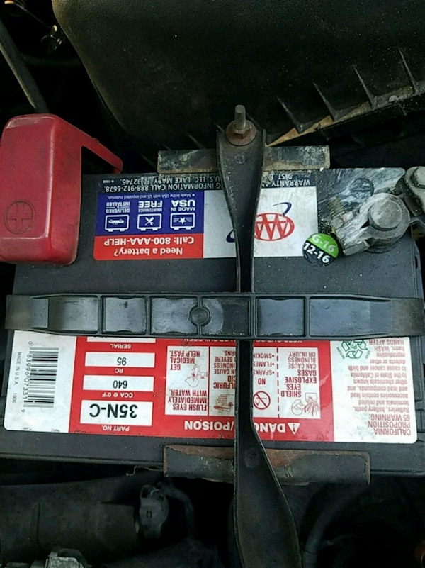 Used 3 yr/ AAA Car battery    for sale in Sarasota - letgo