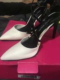 White n black high heels (8) North Providence, 02911