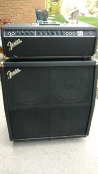 Fender 4x12 head and cabinet Calgary, T3B 1K1