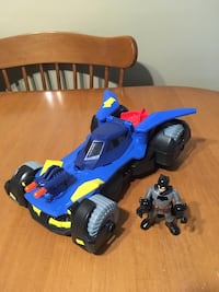 Fisher Price imaginext deluxe batmobile with Batman Niagara Falls, L2H 1X3