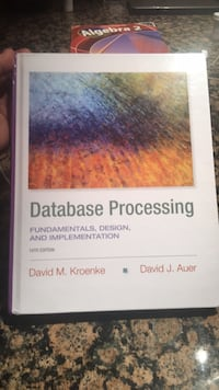 Database Processing TextBook- used