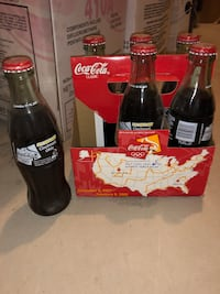 Coke Bottles Collectibles: See the Flame Cincinnati Olympic Torch Relay 2001 404 mi