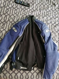 blue and black zip-up jacket Brampton, L7A 1H3