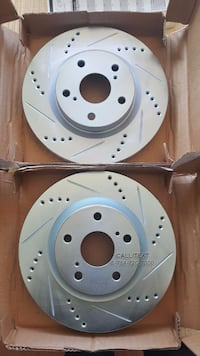 DRILLED/SLOTTED BRAKE ROTORS AVAILABLE FOR EVERY YEAR, MAKE, AND MODEL Santa Ana