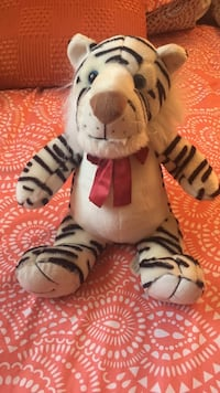 white tiger plush toy Manassas, 20110
