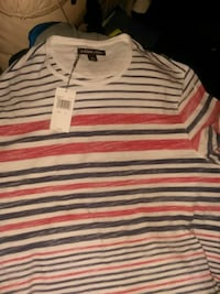 white and red striped polo shirt Pueblo, 81003