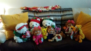 Kids toys stuffed animals and stocking stuffers.