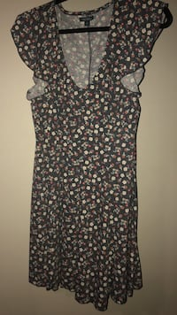 black and red floral sleeveless dress Fort Lauderdale, 33306