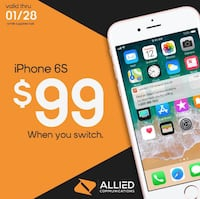 Switch and get the iPhone 6s for under 250! LOUISVILLE