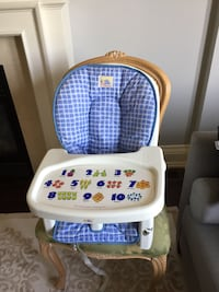 Feeding chair to attach to your dining room chair for baby  Toronto, M6C 2H3