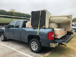 Pickup Truck and Driver for Delivery