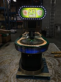 ROULETTE SUPER 21 ARCADE MACHINE Brampton