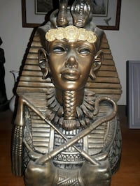 Egyptian deco,statutes, pictures,etc made in Egypt