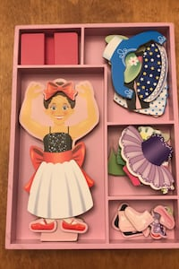 Melissa and Doug NEW Nina Ballerina Pretend Magnetic Dress up Game Toronto, M4T 1Y7