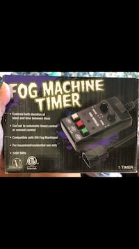 Fog machine timer  Simpsonville, 29681