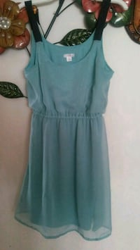 women's teal sleeveless dress Franklin Park, 60131