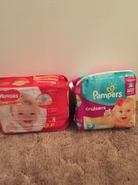 Size 3 diapers  Spanaway, 98387