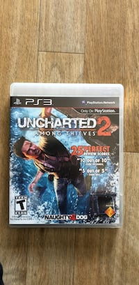 Sony PS3 Uncharted 3 game case