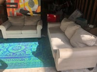 Sofa and love seat ( clean and good condition ) Houston, 77062
