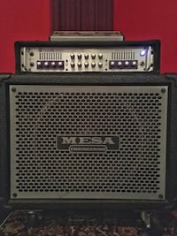 Mesa Boogie Bass Guitar amp and cabinet