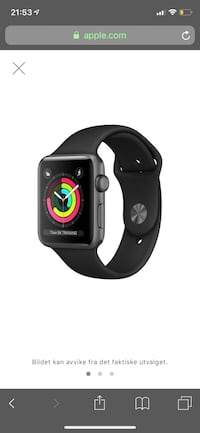 Apple watch Series 3 Kjeller, 2007