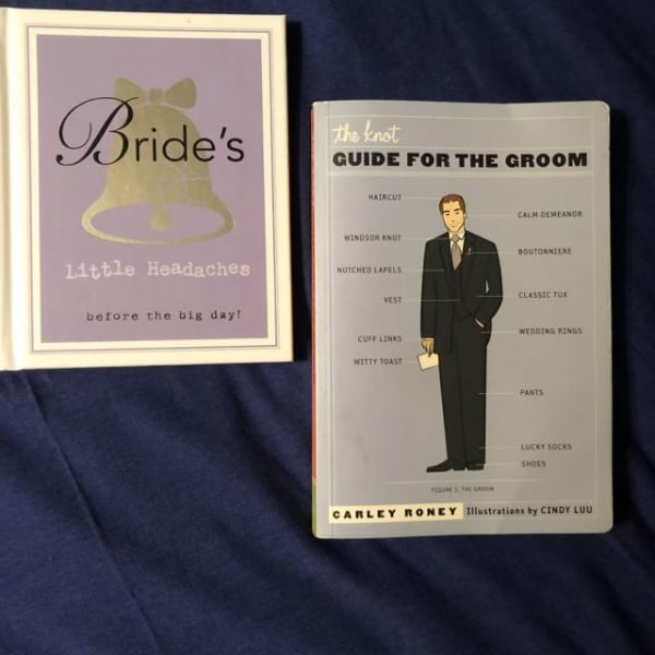WEDDING:BRIDE'S LITTLE HEADACHES & GUIDE FOR THE GROOM
