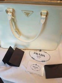 Prada Galleria Purse- in cream
