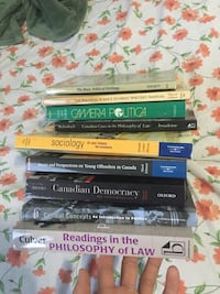 University Canadian Law 9 Textbooks Brampton, L6Y 3C4
