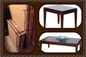 Rooms To Go TV Stand, Coffee And End Tables
