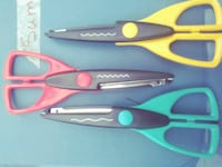 three assorted wave-cut scissors Happy Valley, 97086