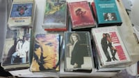 100 Cassette Tapes in Cases Owings Mills