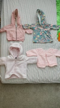 Three winter jackets and one sweater (0-3 months) Burnaby, V3N 0B4