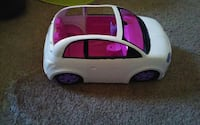 white and pink plastic toy car Las Vegas, 89130