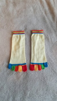Toe Socks 1920 mi