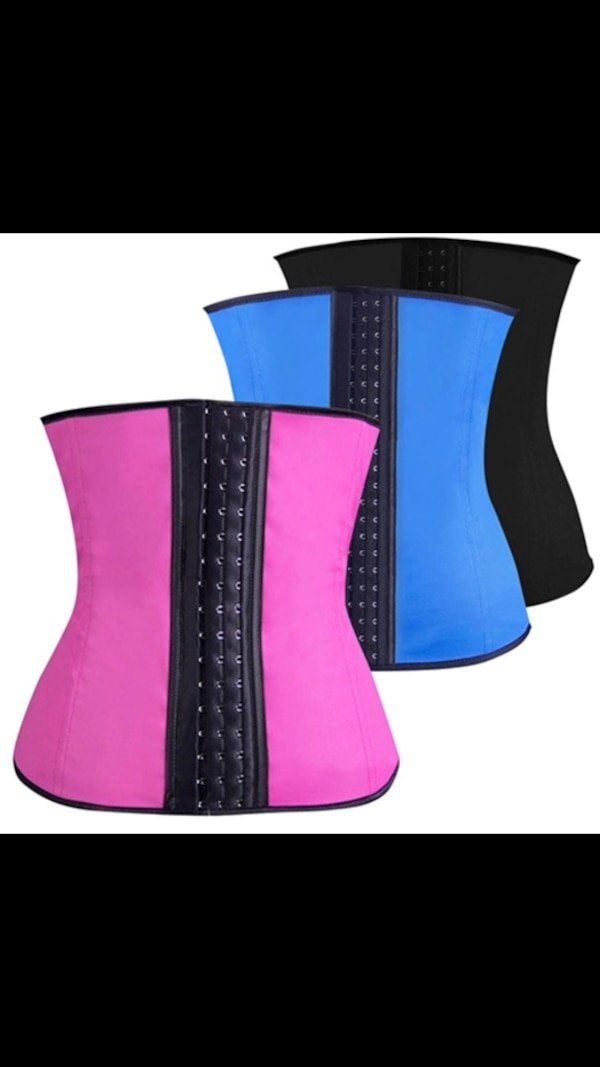 cca6e4b9dab Used Fast Shipping Waist Trainer Tummy Control Corset Body Shaper Fat  Burning Weight Loss Slim Belt for sale in Paterson - letgo