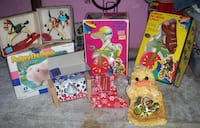 mostly new toys &marbles  box full  LONDON