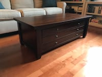 Pottery Barn Apothecary coffee table