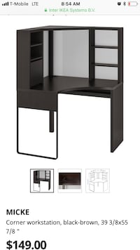 IKEA corner desk  New York