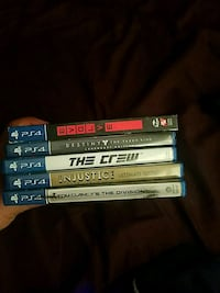 10 each ps4 not really used Cathedral City, 92234