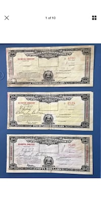 Postal Savings certificates Broomall, 19008