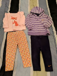 Girl 12m two outfits lot Surrey, V3T 2Z4
