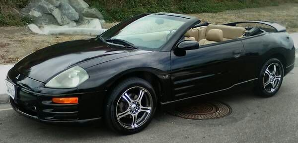 Used 2001 Mitsubishi Eclipse Spyder Gt For Sale In Vista Letgo