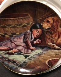 Perillo The Sentinel porcelain collector plate Blackwood, 08012