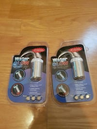 two Water Glow LED faucet light packs