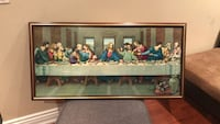 Brown wooden framed last supper Toronto, M6E 3X9