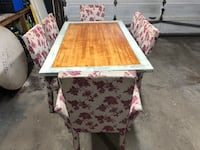 Solid wood dining set Calgary, T3G 2S2