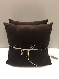 2 brown throw pillows Pickering, L1W 3V4