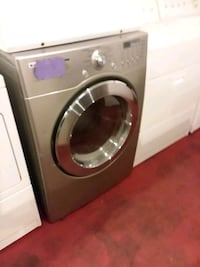 lg stainless steel dryer set excellent condition 4months warranty  Halethorpe, 21227