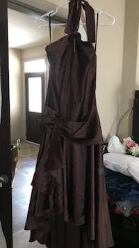 Grad brown dress (grad) Calgary, T3P 0E6
