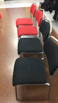 Padded stacking chairs Surrey, V3T 2X3
